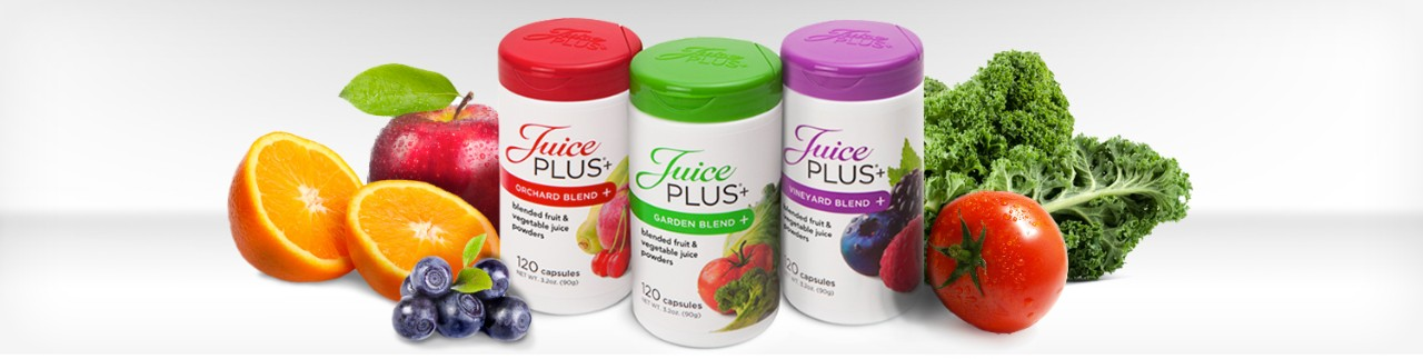Healthy eating and Juice Plus+